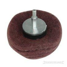 50mm Silverline 240 Grit Dome Sanding Mop - 262170 -  sanding dome mop 50mm 240 grit silverline 262170