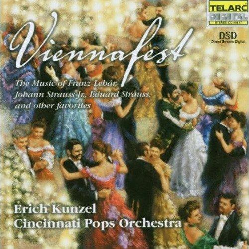Cincinnati Pops Orchestra and Erich Kunzel - Viennafest [CD]