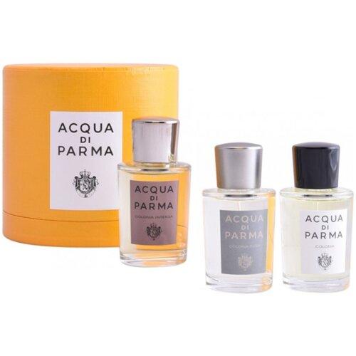 Acqua di Parma Colonia 20ml EDC Spray / Colonia Intensa 20ml EDC Spray / Colonia Pura 200ml EDC Spray For Him Gift Set
