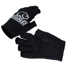 Rhino Pro Rugby Sports Players Hand Protection Gloves Half Finger Stick Mitts (UK2020)
