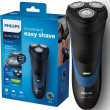 Philips S1510/04 Men's Electric Rotary Shaver with Pop-Up Trimmer