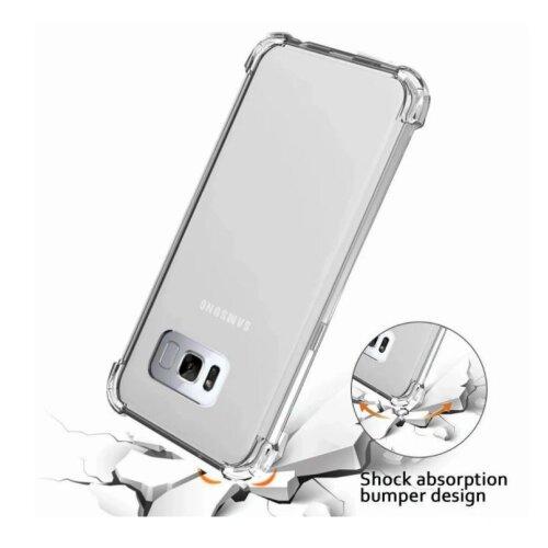 Shockproof Clear Gel Case for Samsung S10