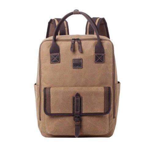TRP0487 Troop London Classic Canvas Messenger Bag | Buy Bags Online | Canvas Messenger Bags | leather canvas backpack