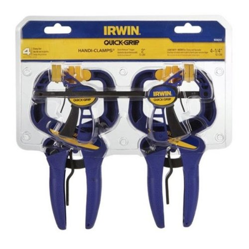 IRWIN Tools QUICK-GRIP One-Hand Micro Bar Clamp 4 1//2-inch 53006