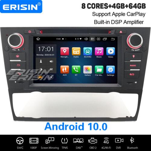 8-Core Android 10.0 Car Stereo CarPlay DAB+ Sat Nav BT WiFi DSP BMW 3 Series E90 E91 E92 E93 M3