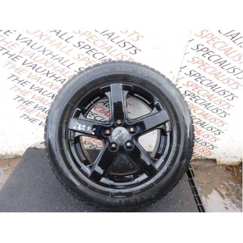 Mercedes Benz Vito 03-14 Single Alloy Wheel + Tyre 205-65-16c (2) *scuffs - Used