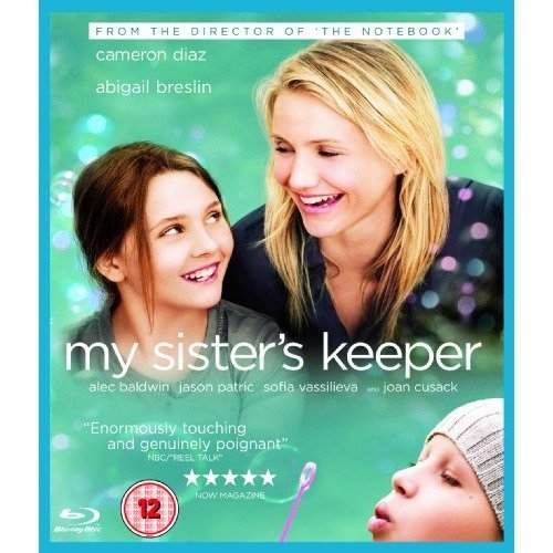 My Sisters Keeper Blu-Ray [2009]