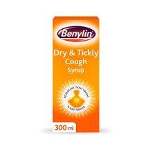 BENYLIN Dry & Tickly Cough Syrup - Targeted Relief For Your Cough - Cough Medicine for Adults & Children - 300 ml