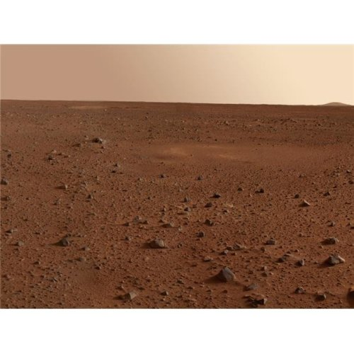 The Rocky Surface of Mars Poster Print, 32 x 24 - Large