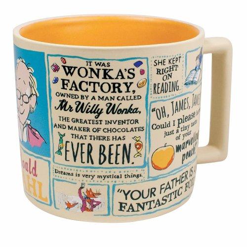 Mug - UPG - Dahl Literary 14oz Coffee Cup New5394