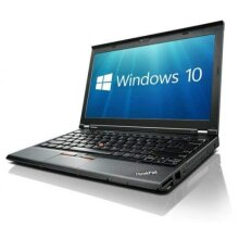 Lenovo X230 (12in Laptop) [Intel Core i5 3320M 2.60GHz, 8GB Memory, 256GB SSD,with Windows 10 Professional - Refurbished