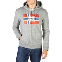 Napapijri BERA Men Grey 111025. Color: Grey, Size: L