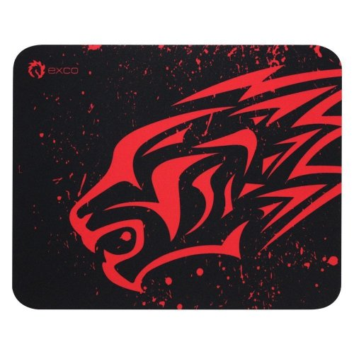 Exco Small Red Leopard Gaming Mouse Pad Oblong Shaped Mouse Mat Design Natural Eco Rubber Durable Computer Desk Stationery Accessories Mouse Pads...