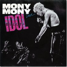 """Mony Mony (Live) - Billy Idol 7"""" 45 - Used"""