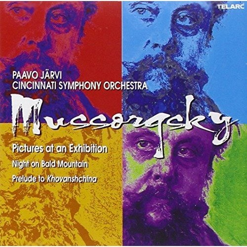 Modest Mussorgsky - Mussorgsky: Pictures at an Exhibition, Night on Bald Mountain [CD]