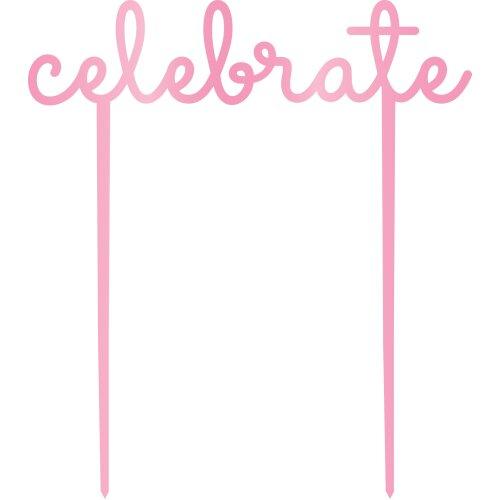 "Kaiser Style Cake Topper 6""-Glorious; Celebrate"