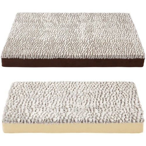 Bunty Ultra Soft Fur Washable Dog Pet Mattress Basket Bed Cushion Fleece Pillow
