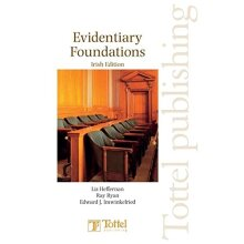 Evidentiary Foundations Irish Edition - Paperback - Good Condition - Used