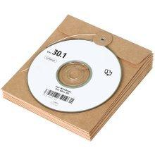 Trixes 10pc Cardboard CD Envelope Pouches