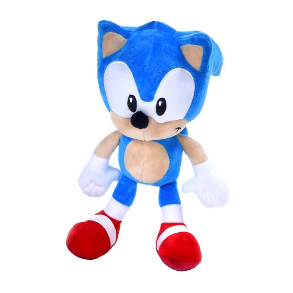 Classic Sonic The Hedgehog 12 Plush Toy On Onbuy