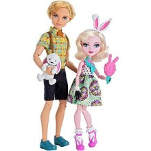 Ever After High] Carnival Date Doll 2Pack Bunny Blanc and Alistair Wonderland LYSB01BK7YCN2-TOYS [Parallel Import Goods]