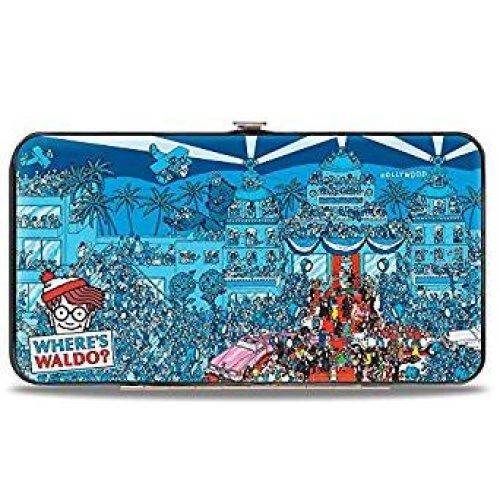 Hinge Wallet - Where's Waldo? -  Toys New Licensed hw-wad