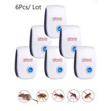 6Pcs/Lot Ultrasonic Pest Repeller - Indoor Plug Electronic UK Plug