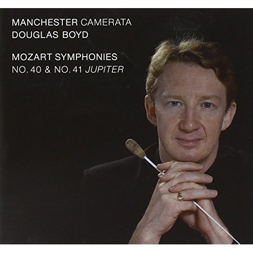MOZART: SYMPHONIES NOS 40 and 41 - MANCHESTER CAMERATA/BOYD [CD]