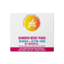 Glo Bamboo Mini-Pads for Sensitive Bladder (16 pads)