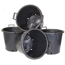 YouGarden Pack of 4 Heavy Duty 30L Pots with Handles