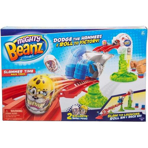 Mighty Beanz Slammer Time Race Track, Multi, 66504