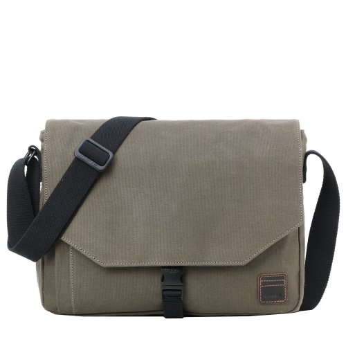 TRP0469 Troop London Classic Canvas Messenger Bag | Buy Bags Online | Canvas Messenger Bags | leather canvas backpack