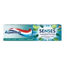 Aquafresh Senses Revitalising Eucalyptus Lime & Mint Toothpaste 75ml