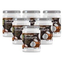 Optima Organic Raw Virgin Coconut Oil 453g (500ml) Six Pack