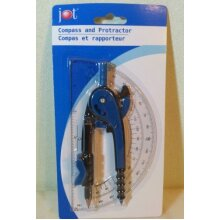 JOT Compass and Protractor Assorted Colors by JOT