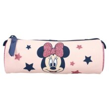 pencil case Minnie Mouse junior polyester pink 17 cm