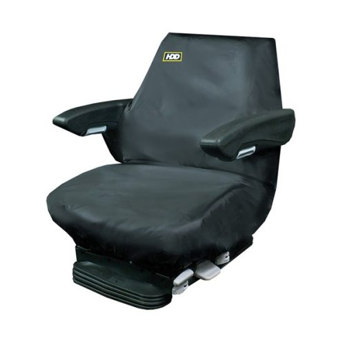 HEAVY DUTY DESIGNS Tractor Seat Cover - Large - Black [T2BLK-331]