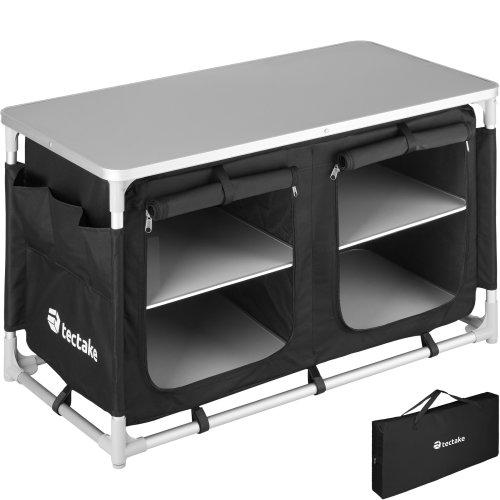 Camping Kitchen 97x47.5x56.5cm - black