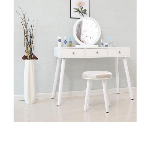 Dressing Table, Minimalist Bedroom Storage Cabinet & One Nordic Makeup / Home Mini Cosmetic Table HWC