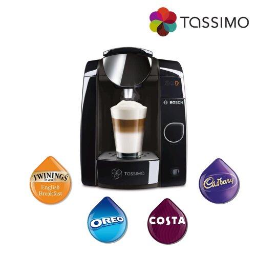 Tassimo Joy Costa Coffee Hot Drinks Machine 1.4L 1300W Black TAS4502NGB Bosch - Refurbished