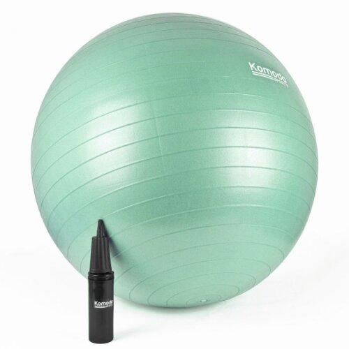 (85cm, Green) Yoga Ball - Anti-Burst Exercise Pilates Fitness Balance Pregnancy Core Workout