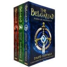 David Eddings 3 Books Collection Set The Belgariad Series