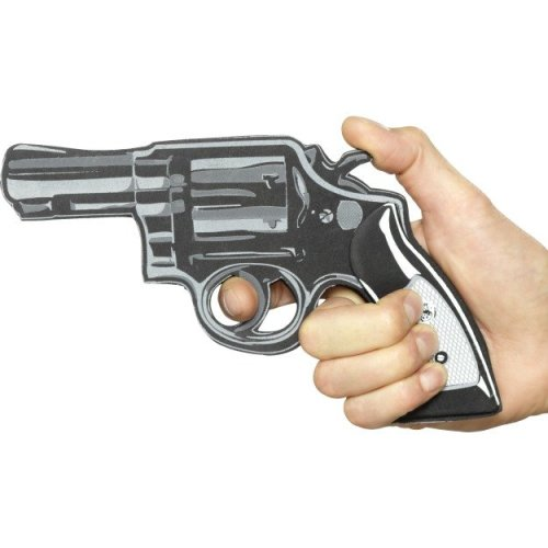 Cartoon Pistol Gun - One Size Fake Plastic Fancy Dress Accessory Wild West -  cartoon pistol gun one size fake plastic fancy dress accessory wild