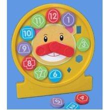 Fun Time Puzzle Clock - Shape Toy Learning 18 Fun Activity Educational Teach -  time puzzle clock shape toy learning 18 funtime activity educational