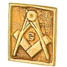 Masonic Tie Tack Tie Pin Yellow Gold MadeTo Order in Jewellery Quarter B'ham