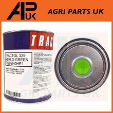 APUK 1 Litre Ltr Green Enamel Paint Tractol compatible with Merlo Telehandler Loader Telescopic
