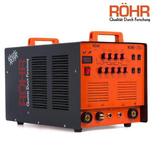 Rohr WSME-250 | ARC TIG Welder Inverter MMA Gas / Gasless 240V 250 amp 4 in 1 Welding Machine