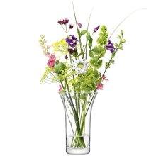 LSA International FW33 Flower Flared Bouquet Vase H26cm Clear