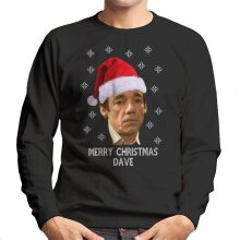 Trigger Merry Christmas Dave Only Fools And Horses Men's Sweatshirt