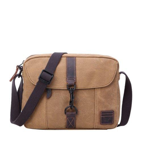 TRP0483 Troop London Classic Canvas Messenger Bag   Buy Bags Online   Canvas Messenger Bags   leather canvas backpack